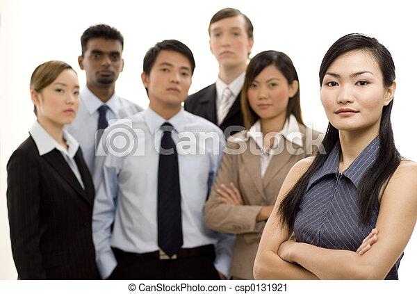 グループ, リーダー, ビジネス 4 - csp0131921