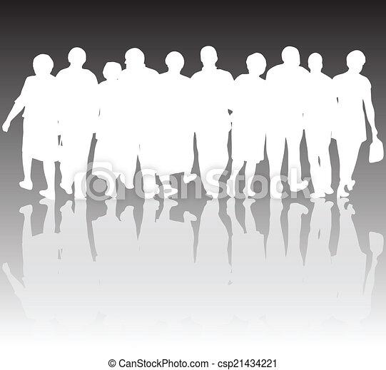 グループ, 人々 - csp21434221