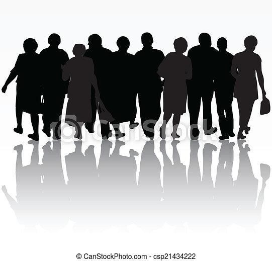 グループ, 人々 - csp21434222