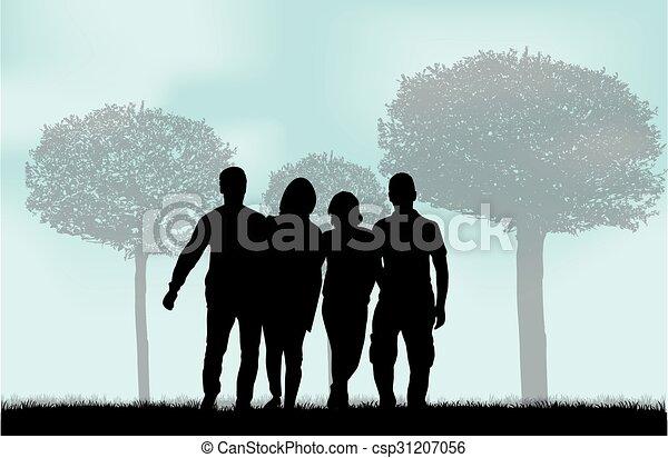 グループ, 人々 - csp31207056