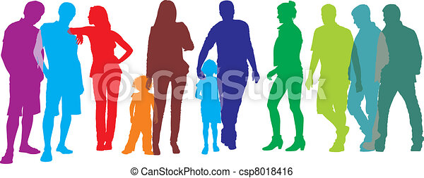 グループ, 人々 - csp8018416