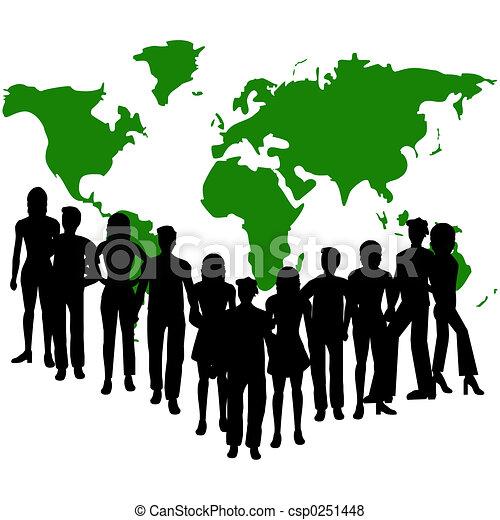 グループ, 人々 - csp0251448