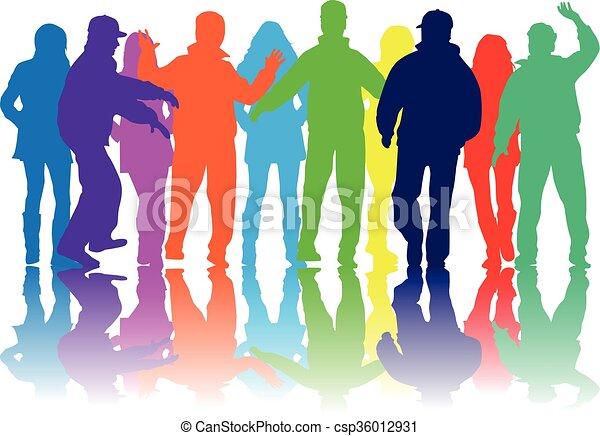 グループ, 人々 - csp36012931