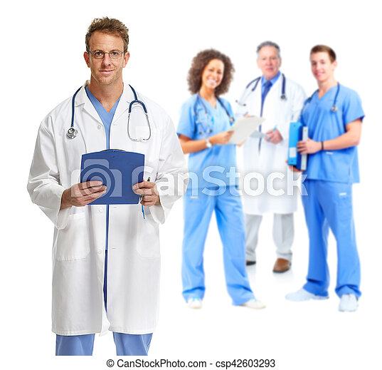 グループ, 医者 - csp42603293