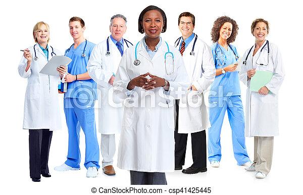 グループ, 医者 - csp41425445