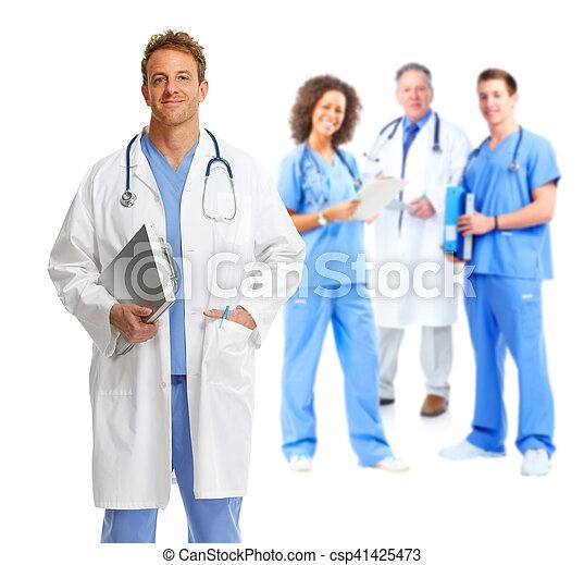 グループ, 医者 - csp41425473