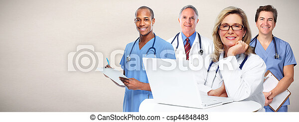 グループ, 医者 - csp44848483
