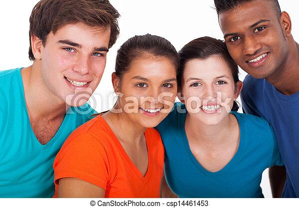 グループ, 多様性, 若い人々 - csp14461453