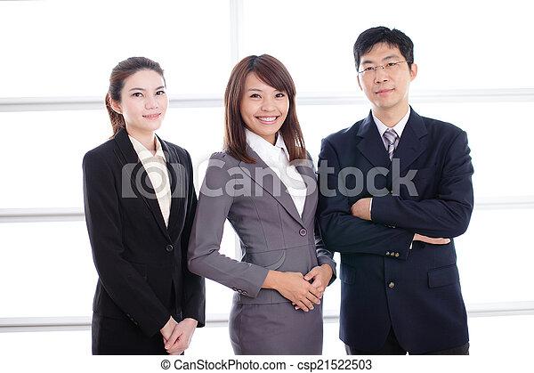 グループ, 成功, ビジネス 人々 - csp21522503