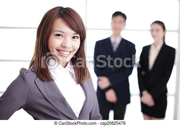 グループ, 成功, ビジネス 人々 - csp20825479