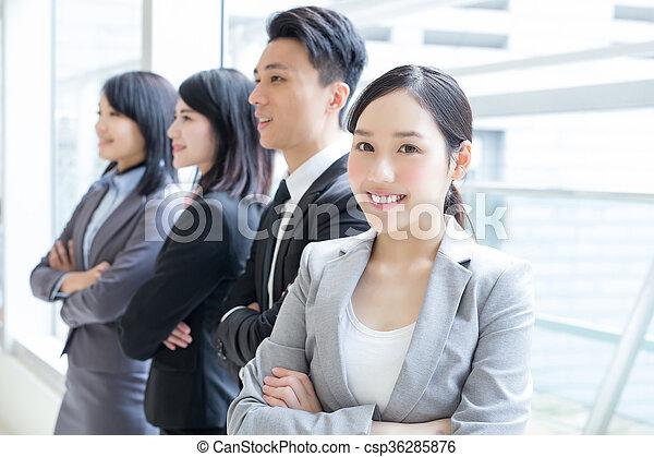 グループ, 成功, ビジネス 人々 - csp36285876