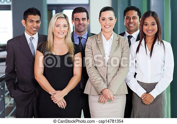 グループ, 若い, businesspeople - csp14781354