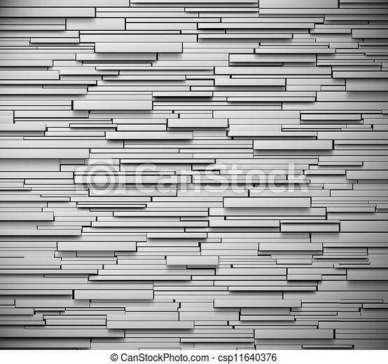 グレーのバックグラウンド, 手ざわり - csp11640376