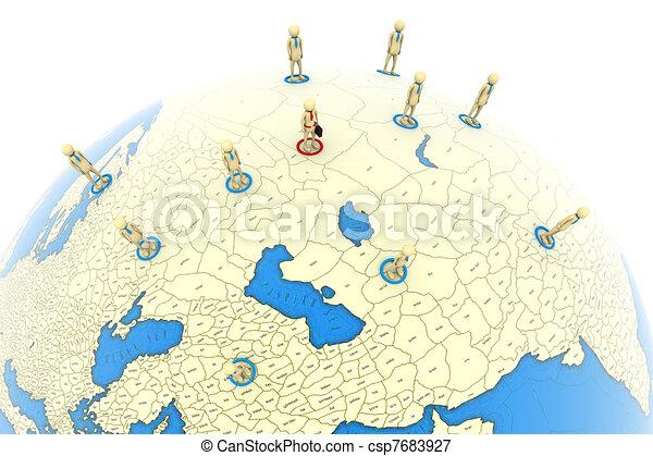 グローバルなビジネス - csp7683927