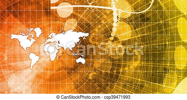 グローバルなビジネス - csp39471993