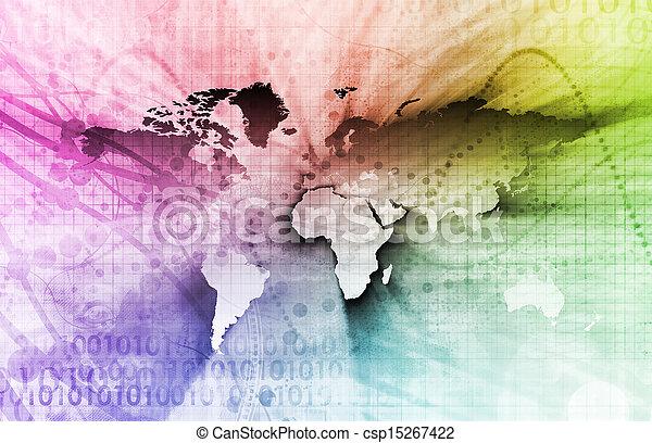 グローバルなビジネス - csp15267422