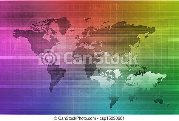 グローバルなビジネス - csp15230681