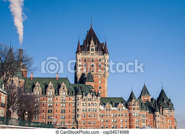 ケベック 都市 - csp34574068