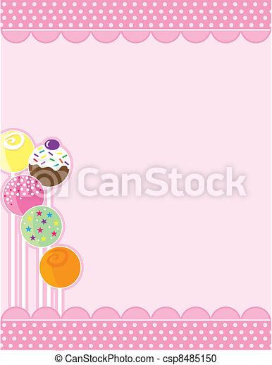 ケーキ, ポンとはじける - csp8485150