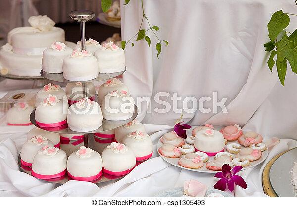 ケーキ, 結婚式 - csp1305493