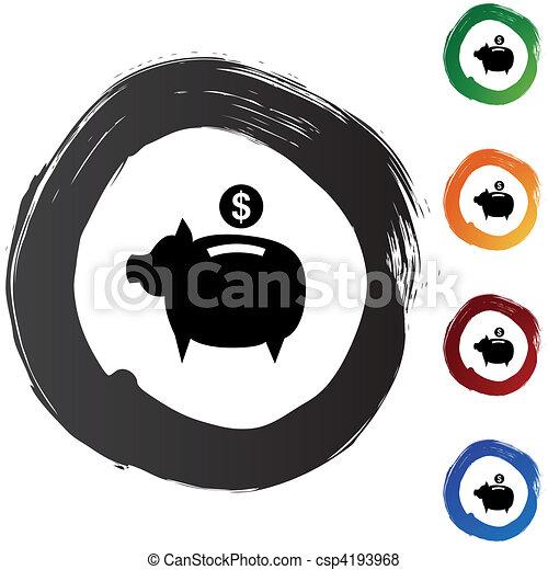 コイン銀行 - csp4193968