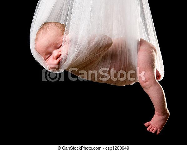 コウノトリ, 赤ん坊, パッケージ - csp1200949