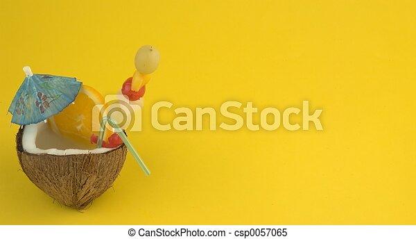 ココナッツ, 飲みなさい - csp0057065