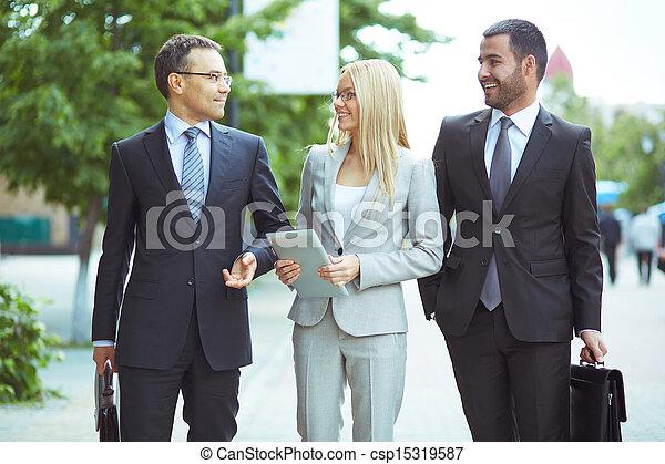 コミュニケーション, ビジネス - csp15319587