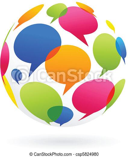 コミュニケーション, 世界的である - csp5824980
