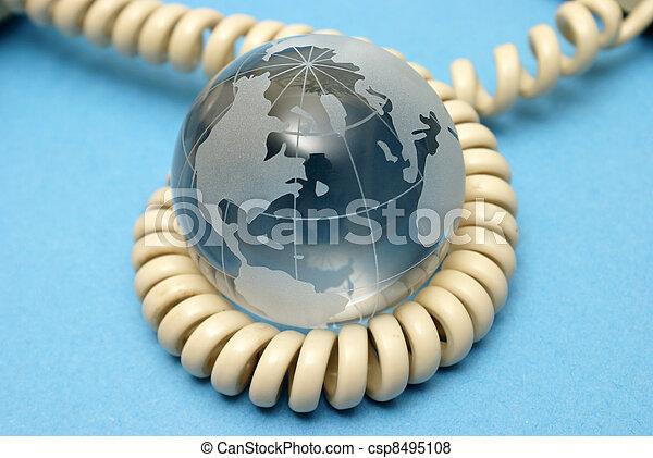 コミュニケーション, 世界的である - csp8495108