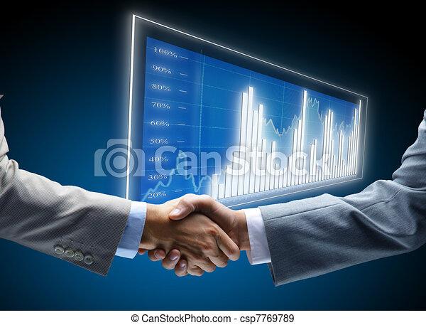 コミュニケーション, 図, ビジネス, 背景, 概念, 雇用, 友人, 味方, 企業である, 合意, 友情, ビジネスマン, チャンス, 取引, 黒, 商業, 始まり, ディスプレイ, 暗い, 金融 - csp7769789