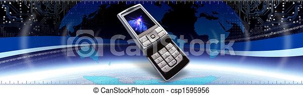 コミュニケーション, 旗 - csp1595956