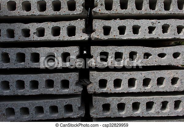 コンクリート, 厚板 - csp32829959