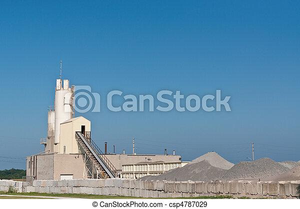 コンクリート, 生産, ファシリティ - csp4787029