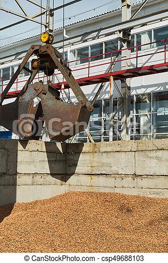 コンクリート, slabs., 製造, 生産, 補強された - csp49688103
