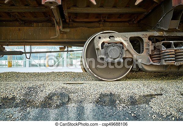 コンクリート, slabs., 製造, 生産, 補強された - csp49688106