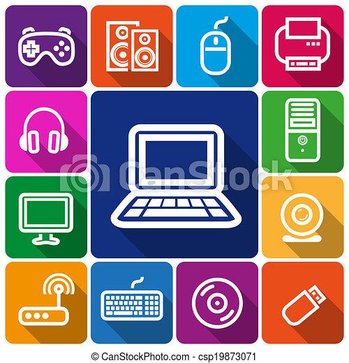 コンピュータアイコン - csp19873071