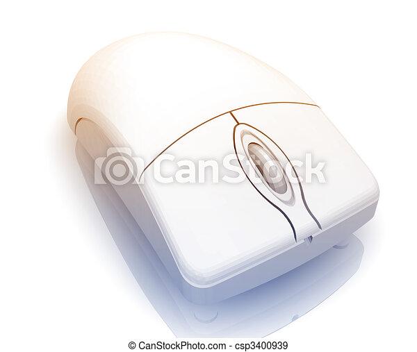コンピュータマウス イラスト スタイル 金属 隔離された イラスト