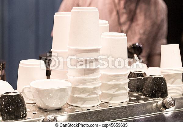 コーヒーカップ - csp45653635