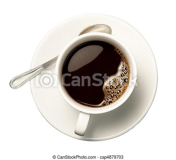 コーヒーカップ - csp4879703