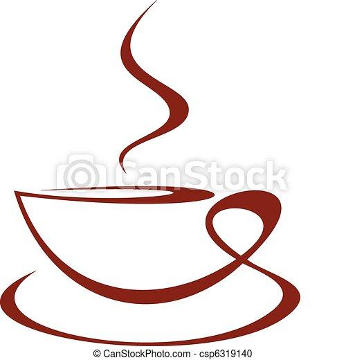 コーヒーカップ - csp6319140