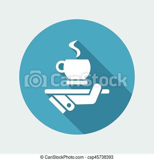 コーヒーカップ - csp45738393