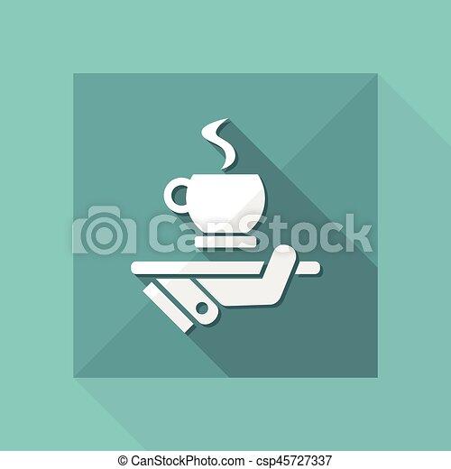 コーヒーカップ - csp45727337