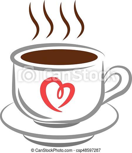 コーヒーカップ - csp48597287
