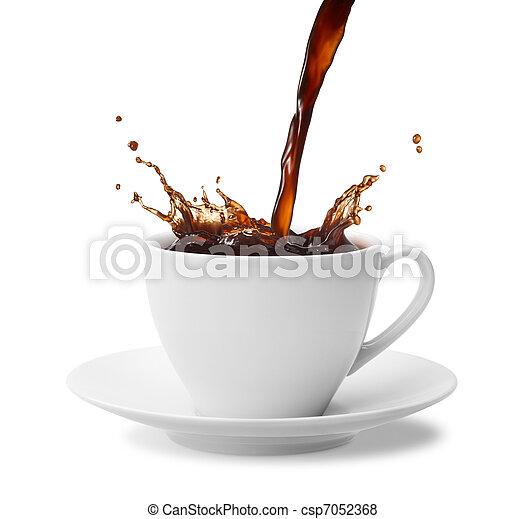 コーヒー, はね返し - csp7052368