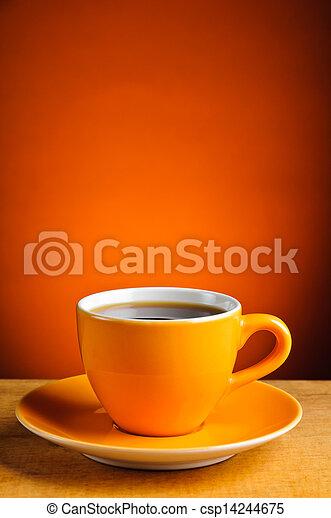 コーヒー, エスプレッソ, カップ - csp14244675