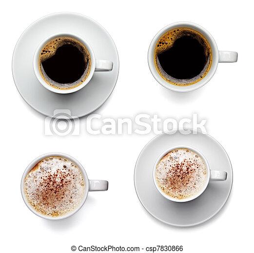 コーヒー 飲み物, カップ - csp7830866