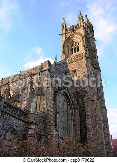 ゴシック様式教会 - csp0170622
