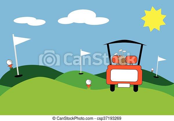 ゴルフ - csp37193269