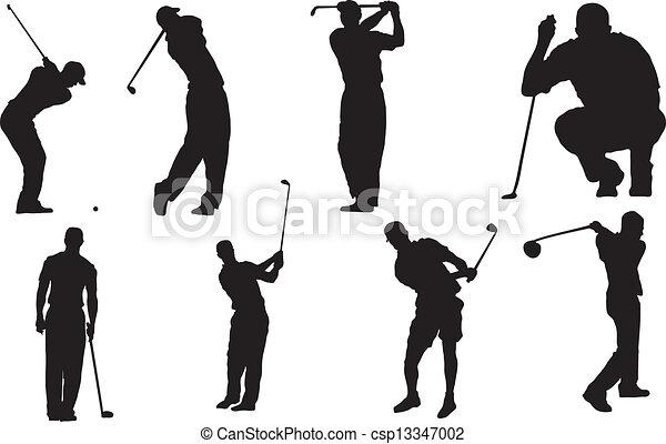 ゴルフ - csp13347002